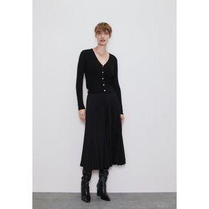 Zara Knit Button Down Cardigan